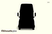 Lorry Silhouette Vector