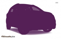 Police Car Silhouette Vector, Illustration