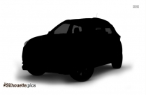 Black And White Volkswagen Beetle Car Silhouette