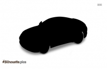 Funny Car Silhouette Clipart