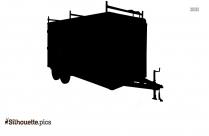 Cargo Truck Silhouette Icon