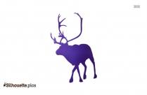 Caribou Reindeer Silhouette