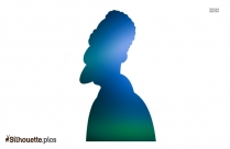 Carl Carlson Silhouette Drawing, The Sympsons Clip Art