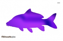 Carp Fish Silhouette Art