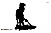 Carpet Cleaning Silhouette Vector
