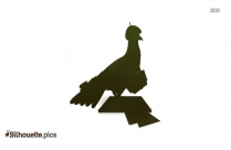 Cassowary Silhouette Vector And Graphics