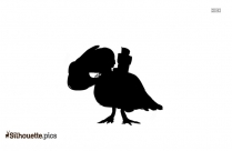 Love Birds Silhouette Picture For Download