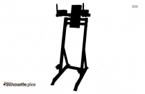 Incline Bench Press Silhouette Image