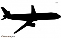 Cartoon Airplane Library Silhouette
