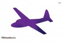 Aeroplane Silhouette Vector Picture