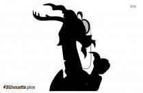 Cartoon Animal Silhouette Drawing