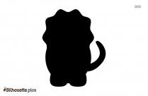 Cartoon Animals Silhouette Icon