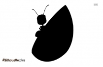 Cartoon Ant Silhouette Drawing