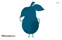 Cartoon Avocados Vector Image