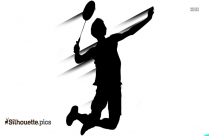 Boy Jumping Silhouette Clipart