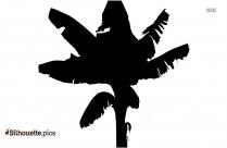 Free Banana Tree Plant Silhouette