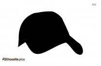 Baseball Cap Silhouette Drawing