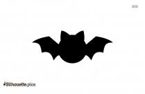Flying Bat Logo Silhouette For Download