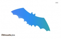 Cartoon Bat Silhouette