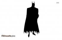 Cartoon Batman Silhouette Illustration