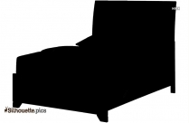 Cartoon Bed Silhouette Picture