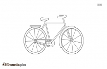 Bicycle Exercise Silhouette Image