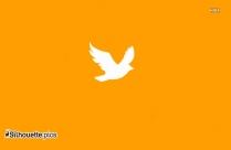 Cute Cartoon Eagle Logo Silhouette For Download