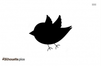 Cartoon Birds Silhouette Art