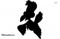 Seagull Outline Silhouette Art