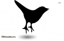 Tweet Bird Clipart Silhouette