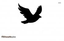 Flying Bird,Woodpecker Silhouette Clip Art