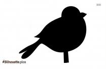 Cartoon Birds Silhouette