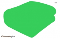 Blanket Silhouette Clip Art Image