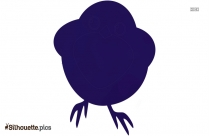 Cartoon Indian Bird Silhouette