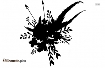 Flowers Abstract Silhouette