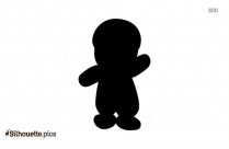 Chucky Silhouette Drawing