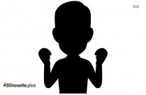 Boy Person Clip Art On Silhouette