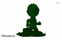 Boy Playing Silhouette