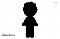Little Boy Silhouette Picture, Clipart