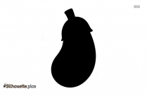 Radish Silhouette Vector Image Picture