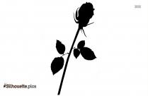 Single Tulip Silhouette Icon
