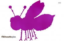 Cartoon Bug Silhouette