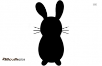 Easter Bunny Silhouette Clipart For Free Download