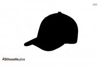 Baseball Hat Outline Silhouette Clipart