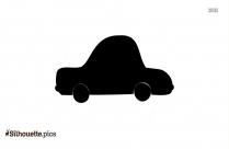 Cartoon Car Silhouette Image
