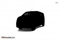 Free Cartoon Car Silhouette Vector