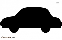 Cartoon Car Silhouette Free Vector Image