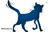 Cartoon Cat Drawing Silhouette Art