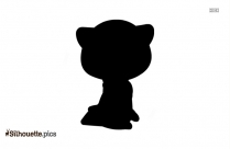 Margay Cat Silhouette Clip Art