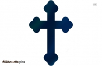 Celtic Cross Silhouette Picture